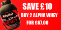 SCORPION ALPHA WHEY DOUBLE OFFER
